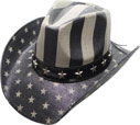 SC-317 Flag Cowboy Hat
