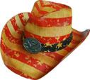 SC-306 Flag Cowboy Hat