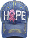 LD-154 Hope Pink Ribbon Rhinestone
