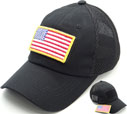 FG-041 US Flag Patch Soft Mesh