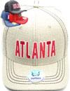 FS-743 Atlanta Linen Snapback
