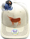 FS-751 Cow Linen Snapback