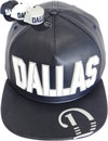 FS-438 Dallas PU Rubber Snapback