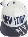 FS-439 New York PU Rubber Snapback