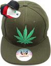 FS-727 Marijuana Small Mesh Snapback