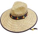 SC-448 Marijuana Straw Hat