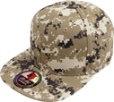 FS-069 100% Cotton Snapback D.Camo