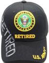 MI-104 Army Retired Side Emb
