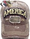 TR-166 America Flag Cotton Vintage