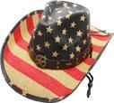 SC-313 Flag Cowboy Hat