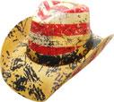 SC-316 Flag Cowboy Hat