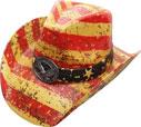 SC-318 Flag Cowboy Hat