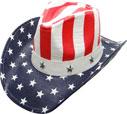 SC-319 Flag Cowboy Hat