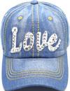 LD-157 Love Rhinestone