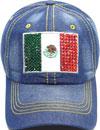 LD-162 Mexico Flag Rhinestone