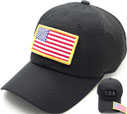 FG-066 US Flag Patch Soft Mesh