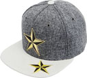 FS-474 Star HF H.Gray Snapback