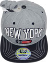FS-403 New York H.Gray PU Snapback