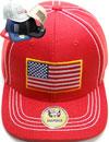 FS-755 US Flag Linen Snapback