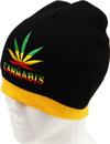 WB-427 Marihuana Logo Beanie