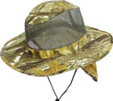 CP-042 Hunting Brown Camo Flap Mesh Boonie