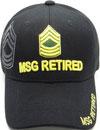 MI-571 Army MSG Retired