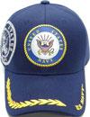 MI-608 Navy Shield Leaf Bill