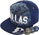 FS-445 Dallas PU Camo Snapback