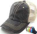 MS-138 Pigment Stitch Trucker Mesh