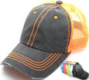 MS-139 Pigment Stitch Trucker Mesh