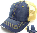 MS-141 Pigment Stitch Trucker Mesh