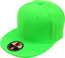 BF-225 N.Green Flatbill Fitted