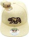 FS-609 Bear Linen Snapback