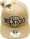 FS-606 Mexico Linen Snapback