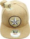 FS-608 Star Linen Snapback