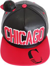 FS-437 Chicago PU Rubber Snapback