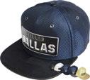 FS-485 Dallas Shiny Mesh HF Snapback