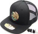 FS-626 HF Mexico Flag Eagle Snapback