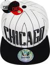 FS-391 Chicago Stripe Snapback