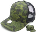 CT-093 Tactical Camo Meshback Trucker