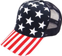 BP-221 US Flag Meshback