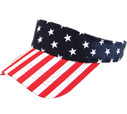 BP-222 US Flag Sun Visor