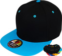 FS-062 100% Cotton Black 2Tone Snapback