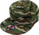 BF-224 W.Camo Flatbill Fitted
