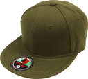 BF-223 Olive Flatbill Fitted