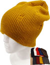 BB-107 Plain Vintage Long Beanie